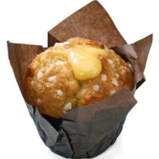 White Chocolate Lemon Muffin